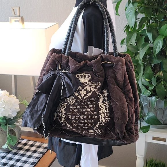 Vintage Juicy Couture Daydreamer tote.